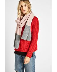Jack Wills - Mollington Colour Block Scarf - Lyst