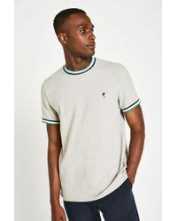 Jack Wills - Baildon Pique Ringer T-shirt - Lyst