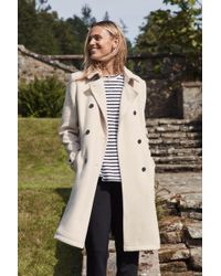 Jack Wills - Atwater Wool Blend Trench - Lyst