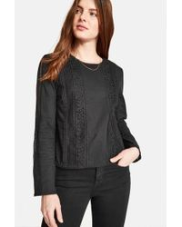 Jack Wills - Marygold Lace Top - Lyst