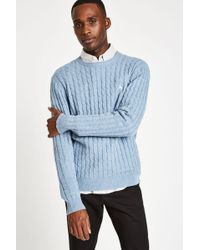 Jack Wills - Marlow Cable Crew - Lyst