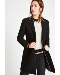 Jack Wills - Chelsea Wool Blend Overcoat - Lyst