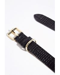 Jack Wills - Mock Crock Leather Classic Belt - Lyst