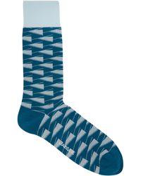 Jaeger - Linear Geo Sock - Lyst