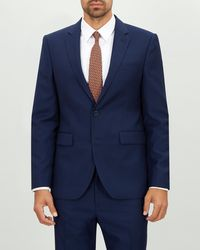 Jaeger - Regular Two Tone Texture Weave Jacket - Lyst