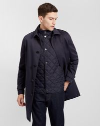 Jaeger | Mac With Removable Gilet | Lyst