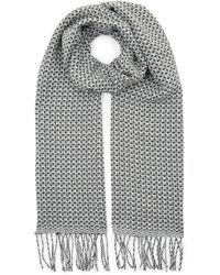 Jaeger - Mini Mixed Puppy Tooth Scarf - Lyst