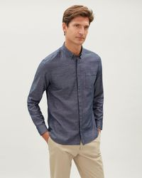 Jaeger - Cotton Tencile Shirt - Lyst