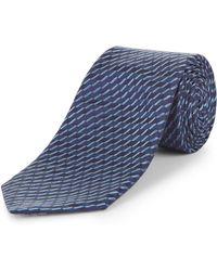 Jaeger - Zig Zag Stripe Tie - Lyst