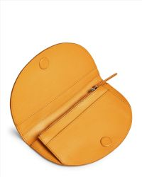 Jaeger - Leather Curved Purse - Lyst