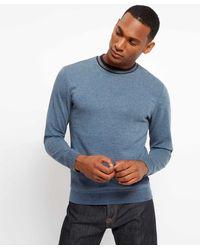 Jaeger - Cotton Double Faced Sweatshirt - Lyst