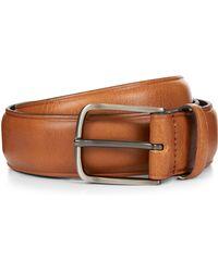 Jaeger - Casual Tan Pebble Dash Leather Belt - Lyst