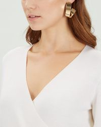 Jaeger - Twist Earring - Lyst