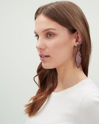 Jaeger - Heidi Cheeseplant Earrings - Lyst