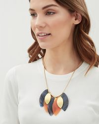 Jaeger - Lana Leaf Necklace - Lyst