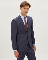 Jaeger - Regular Fine Textured Weave Jacket - Lyst