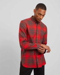 Jaeger - Exploded Check Shirt - Lyst