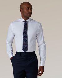 Jaeger - Slim Twill Shirt - Lyst