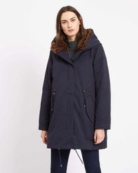 Jaeger   Parka With Detachable Lining   Lyst