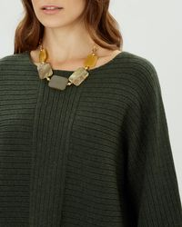 Jaeger - Rectangle Tablet Necklace - Lyst