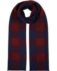 Jaeger | Bold Check Scarf | Lyst