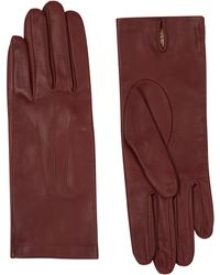 Jaeger Leather Glove - Red