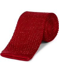 Jaeger - Interest Knitted Tie - Lyst