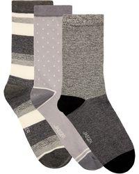 Jaeger - Patterned Socks Cube Gift Box - Lyst