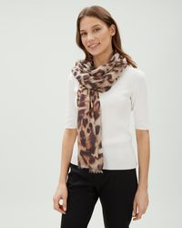 Jaeger - Cutabout Animal Scarf - Lyst