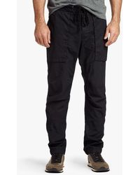James Perse - Stretch Poplin Utility Pant - Lyst