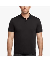 James Perse - Cotton Cashmere Jersey Polo - Lyst
