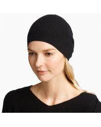James Perse - Cashmere Ladder Stitch Beanie - Lyst