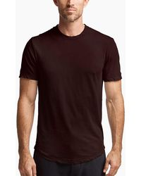 James Perse - Clear Jersey Crew - Lyst