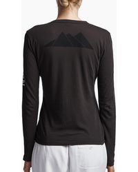 James Perse - Aspen Mountains Graphic Crew - Lyst