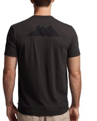 James Perse - Aspen Mountains Graphic Tee - Lyst