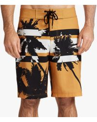 James Perse - Y/osemite Printed Palm Boardshort - Lyst