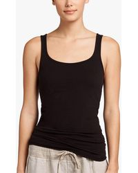 James Perse - Long Jersey Tank - Lyst