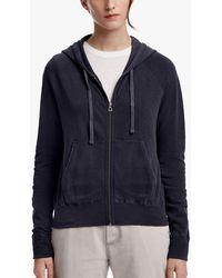 James Perse - Vintage Fleece Long Sleeve Hoodie - Lyst