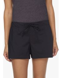 James Perse - Laundered Cotton Pajama Short - Lyst