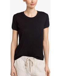 James Perse - Organic Cotton Cashmere Tee - Lyst