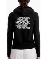 James Perse - Long Island Beach Graphic Hoodie - Lyst
