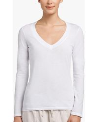 James Perse - Relaxed Casual V-neck - Lyst