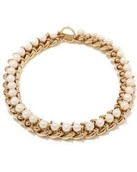 Jason Wu - Chain Necklace With 8mm Pearls - Lyst