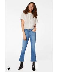 J Brand - Selena Mid-rise Cropped Boot Cut - Lyst