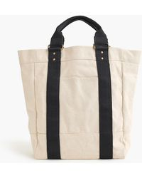 J.Crew - Rugged Canvas Tote Bag - Lyst