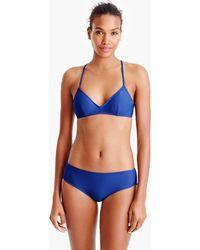 J.Crew - French Cross-back Bikini Top - Lyst