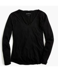 J.Crew - Mercantile Long-sleeve Tissue T-shirt - Lyst