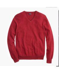 J.Crew - Everyday Cashmere V-neck Sweater - Lyst