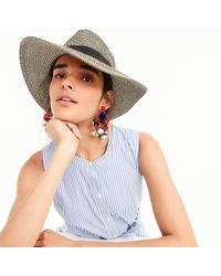 J.Crew - Packable Straw Hat - Lyst