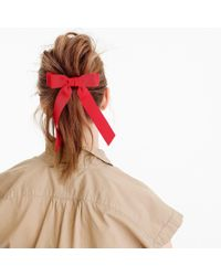 J.Crew - Grosgrain Ribbon Hair Tie - Lyst